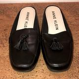 Urban Outfitters Shoes | Anne Klein Loafers! Like New, Worn Twice | Color: Black/Cream | Size: 7
