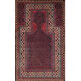 """""""Balouch Colletion Hand-Knotted Lamb's Wool Area Rug- 2' 9"""""""" X 4' 6"""""""" - Pasargad Home 043946"""""""