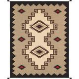 """""""Navajo Style Hand-Woven Wool Area Rug- 9' 1"""""""" X 11'11"""""""" - Pasargad Home PNT-41 9 X 12"""""""