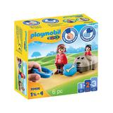 PLAYMOBIL Toy Building Sets - Dog Train Car Six-Piece Toy Set