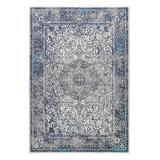 nuLOOM Indoor Rugs Blue - Blue Persian Delores Rug