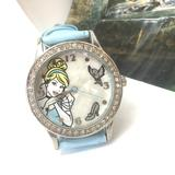 Disney Accessories | Disney Accessories,Disney Cinderella Watch Working | Color: Blue/Silver | Size: Os