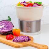 Kalorik Digital Ceramic Steamer by Kalorik in White