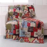 """Rustic Lodge Quilted Throw Blanket by Greenland Home Fashions in Multi (Size 50"""" X 60"""")"""