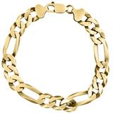 Men's 14k Goldplated Sterling Silver Link Chain Bracelet - Metallic - Effy Bracelets