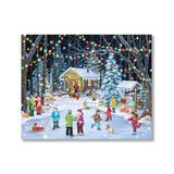 Vermont Christmas Company Puzzles multi - Woodland Skaters 1,000-Piece Puzzle