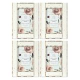 """""""Prinz Reclaimed 4"""""""" x 6"""""""" Picture Frames, White, 6X8"""""""