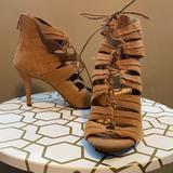 Jessica Simpson Shoes   Jessica Simpson Lace Up Pump Sandal   Color: Tan   Size: 8