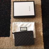 Gucci Bags | Gucci Micro Guccissima Card Case Wallet | Color: Brown | Size: Os