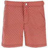Skull Dots Swim Trunks - Red - Alexander McQueen Beachwear