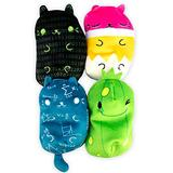 """Cats vs Pickles - Smarty Collection #2 - Stubbie, Triggy Kitty, Coder Cat, & Ed - 4-Pack - 4"""" Cute Cuddly Collectible Bean Plush Toy - are You Team Cat or Team Pickle? Collect Them All!"""