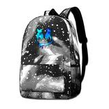 Marsh-Mello Fashion Casual Star Sky School Backpack Bookbags for Teens Boys Girls