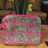 Lilly Pulitzer Accessories | Lilly Pulitzer Later Gator Ipad Case Sleeve Cover | Color: Green/Pink | Size: Os