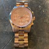 Michael Kors Accessories   Michael Kors Rose Gold Bracelet Watch   Color: Gold   Size: Os