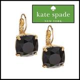 Kate Spade Jewelry   Kate Spade Classic Blackgold Lever Back Earrings   Color: Black/Gold   Size: Os