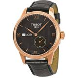 Le Locle Automatic Black Dial Watch T0064283605800 - Pink - Tissot Watches