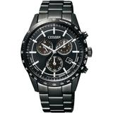 Eco-drive Chronograph Date Calendar Band Watch - Black - Citizen Watches