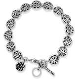 Sterling Silver Disc Scroll Link Bracelet At Nordstrom Rack - Metallic - Lois Hill Bracelets