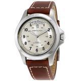 Khaki Field King Automatic Silver Dial Watch - Metallic - Hamilton Watches