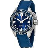 Khaki Navy Frogman Automatic Blue Dial Watch - Blue - Hamilton Watches