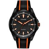 Drive Silicone Strap Watch - Black - Citizen Watches