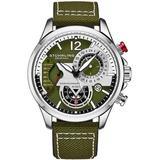 Aviator Quartz Green Dial Mens Watch - Green - Stuhrling Original Watches