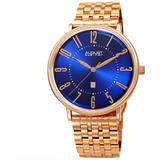Quartz Blue Dial Watch - Blue - August Steiner Watches