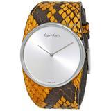 Spellbound Silver Dial Watch - Metallic - Calvin Klein Watches