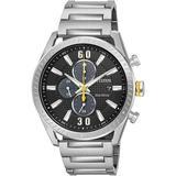 Standard Stainless Steel Eco-drive Watch - Metallic - Citizen Watches