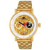 Ak2266 Automatic Watch -020go - Metallic - Adee Kaye Watches