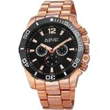 Multi-function Black Dial Watch - Black - August Steiner Watches