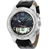 T-touch Ii Black Mother Of Pearl Unisex Watch T0472204612600 - Black - Tissot Watches