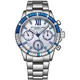 Vogue Silver-tone Dial Watch - Metallic - Stuhrling Original Watches