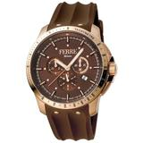 Chronograph Brown Dial Watch - Brown - Ferré Watches