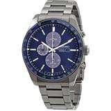 Solar Chronograph Quartz Blue Dial Watch Ssc719 - Blue - Seiko Watches