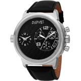 Chronograph Quartz Black Dial Watch - Black - August Steiner Watches