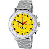 Quartz Yellow Dial Watch -50 - Metallic - Adee Kaye Watches