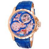 Ak5664 Blue Dial Watch -0rgbu - Blue - Adee Kaye Watches