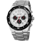 Quartz Silver Dial Watch - Metallic - August Steiner Watches