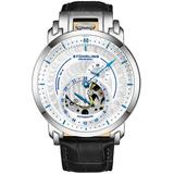 Legacy Automatic Silver Dial Mens Watch - Metallic - Stuhrling Original Watches