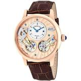 Legacy Rose Gold-tone Dial Watch - Pink - Stuhrling Original Watches