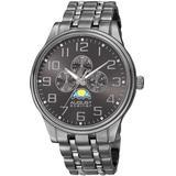 Quartz Grey Dial Watch - Gray - August Steiner Watches