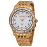 Mother Of Pearl Dial Rose Gold-tone Watch - Metallic - August Steiner Watches