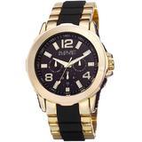 Black Dial Watch - Metallic - August Steiner Watches