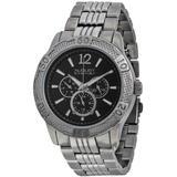 Multi-function Metal Watch - Black - August Steiner Watches