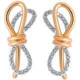 Lifelong Bow Stud Earrings In Multi At Nordstrom Rack - Blue - Swarovski Earrings