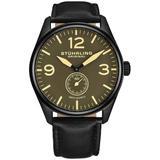 Aviator Brown Dial Watch - Brown - Stuhrling Original Watches