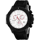 Aulia Chronograph Quartz Silver Dial Watch - Metallic - Roberto Bianci Watches