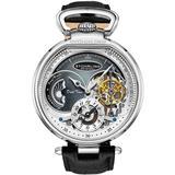 Legacy Automatic Grey Dial Mens Watch - Metallic - Stuhrling Original Watches
