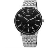 Quartz Black Dial Watch - Black - August Steiner Watches